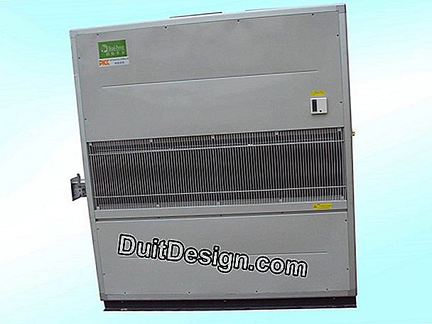 The ducted air conditioner