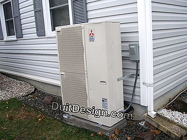 Characteristics of a heat pump