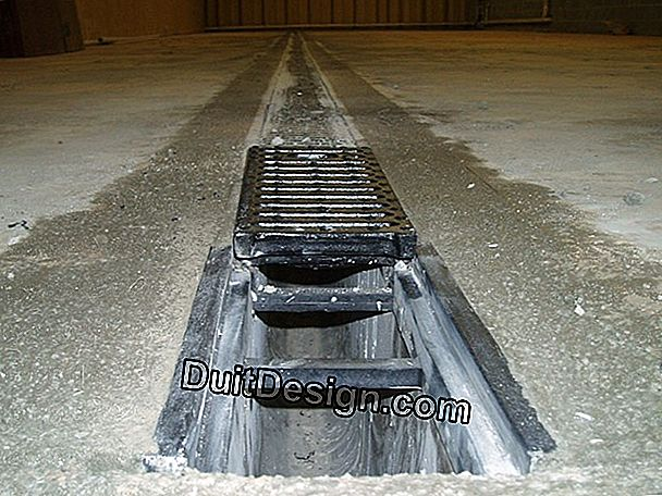 Draining a heated floor