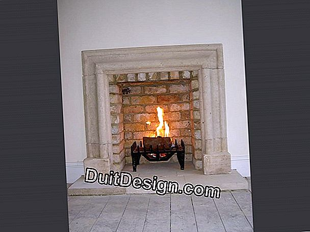 Fireplace: how to close an open fire?