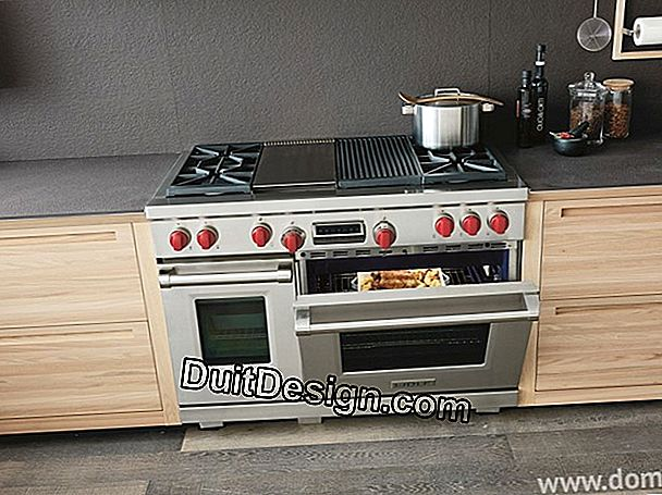 The infrared gas stove