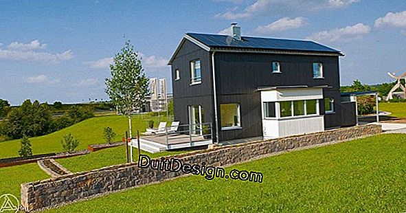 Energy self-sufficient houses