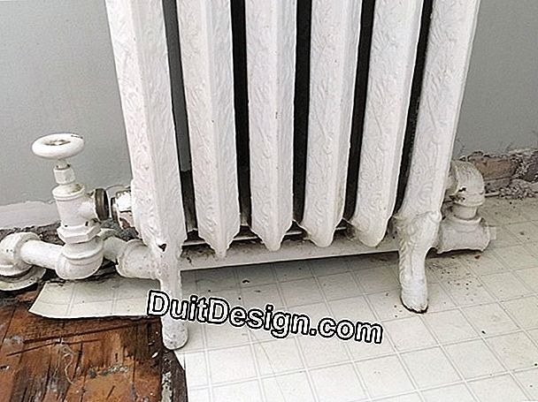 How to disassemble a radiator
