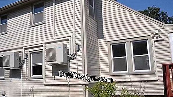 Install an air conditioning system in a house
