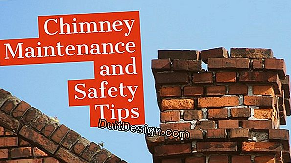 The maintenance of a chimney