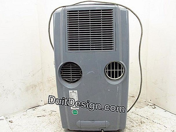 The mobile air conditioner