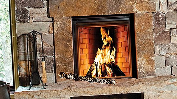 Optimize the draft of an open fireplace