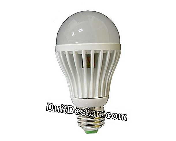 The price of an LED bulb