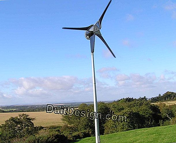 Price of a domestic wind turbine