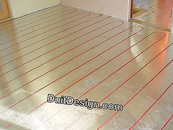 Electric radiant floor