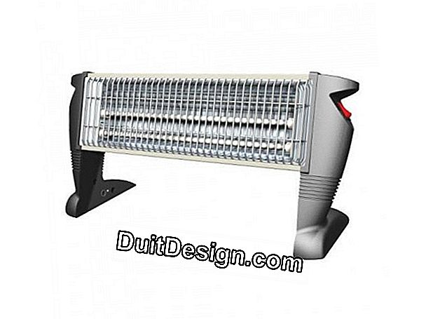 The halogen radiator