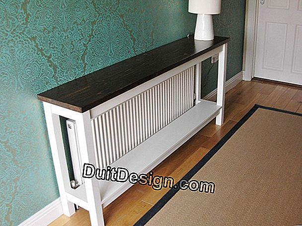 The radiator table