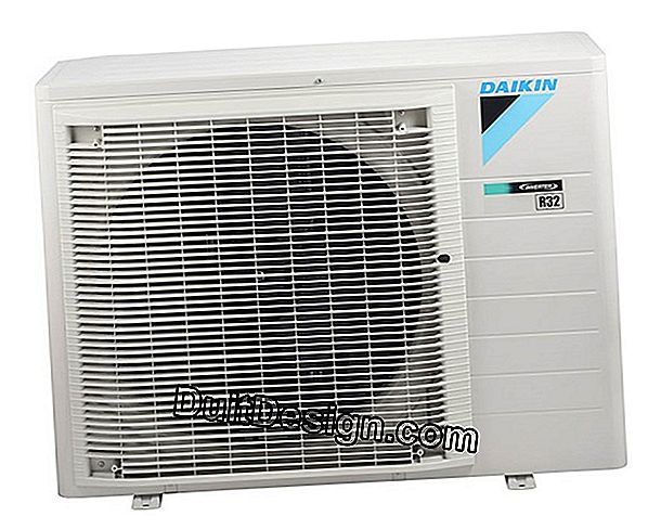 The split air conditioner