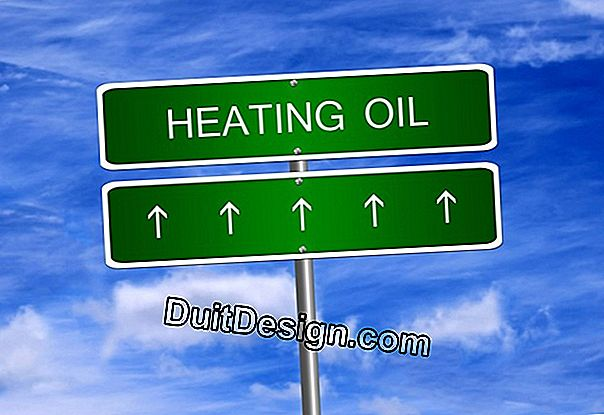 Switch from oil heating to gas heating