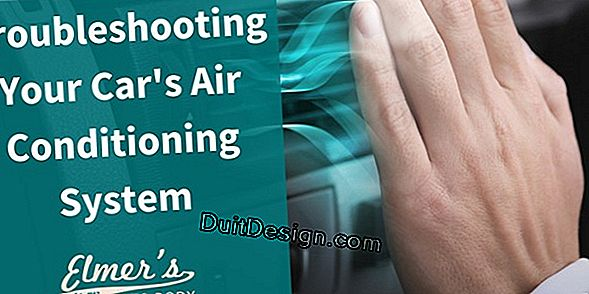 Troubleshooting an air conditioning system