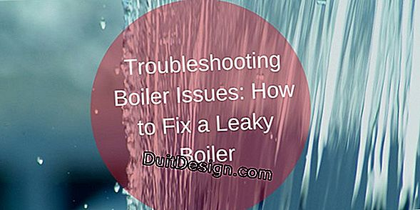 Troubleshooting a boiler