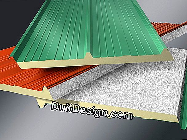 What materials for the insulation of a roof