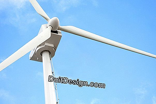 The horizontal wind turbine