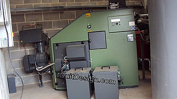 The wood chip boiler