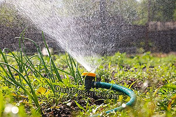 Garden watering equipment
