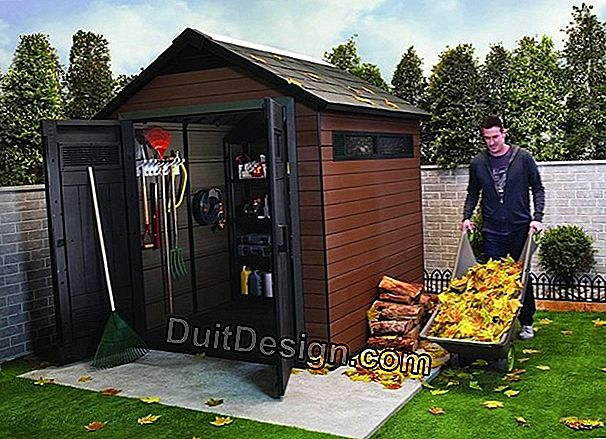 How to choose a garden shed?