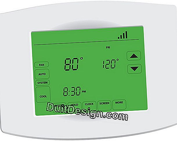 Heating: different types of thermostat