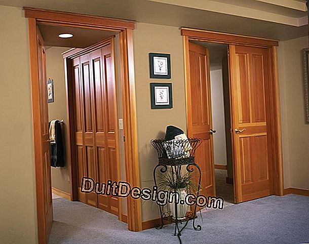 How to replace interior doors and their frame?