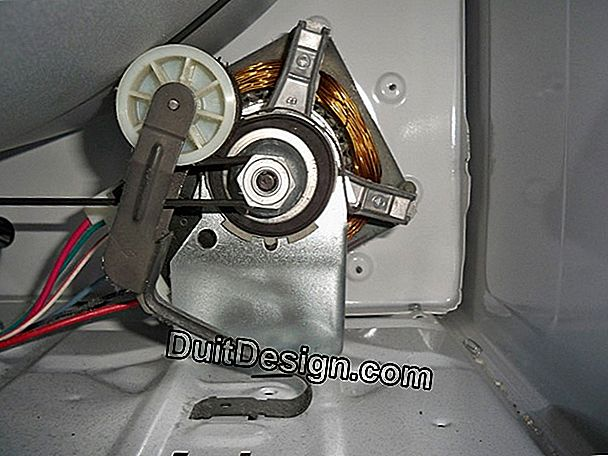 Replace the drum and belt of a dryer