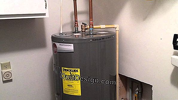 The electric water heater