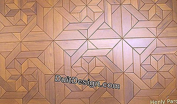 Lay multilayer parquet glued in full