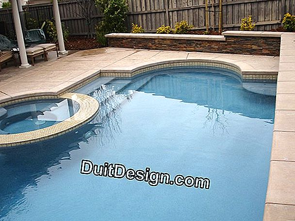Build your dream pool into bancher blocks