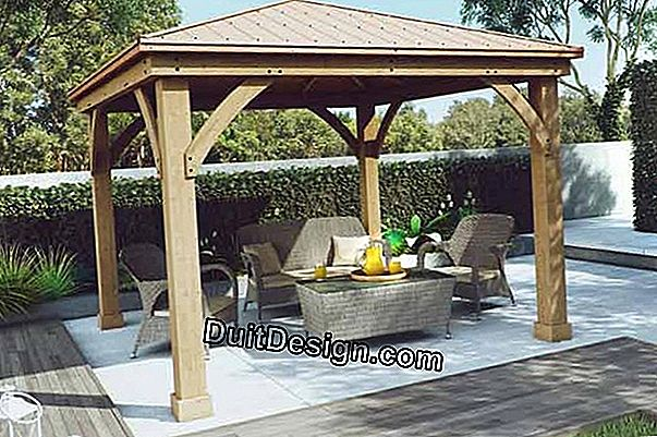 Buy and install an aluminum veranda