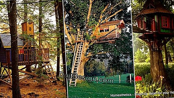 DIY: building a treehouse perched on a tree