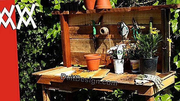 DIY: a reclaimed potting table