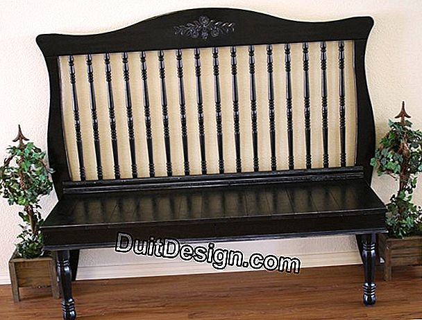 DIY: Transform a piece of furniture into a bed of charm