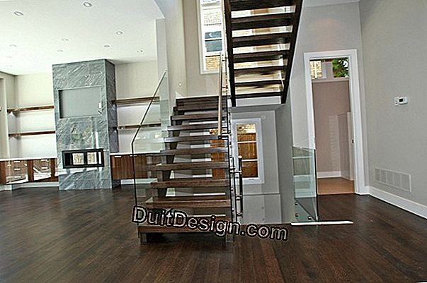 How to make a straight ash staircase
