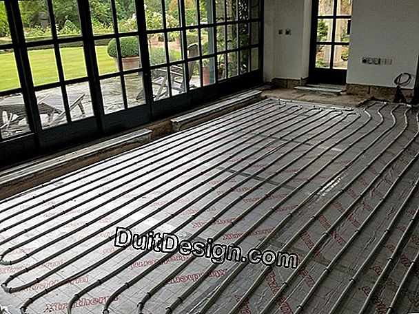 How to install a floor heating?