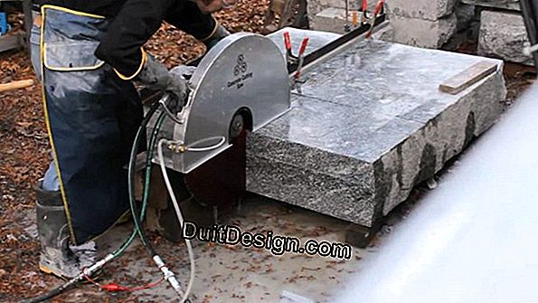 How to fix a broken cut stone
