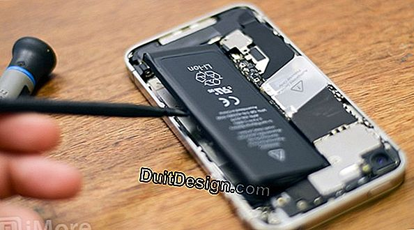 How to replace the battery of an iPhone 4s