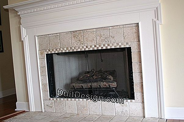 How to replace a marble fireplace?