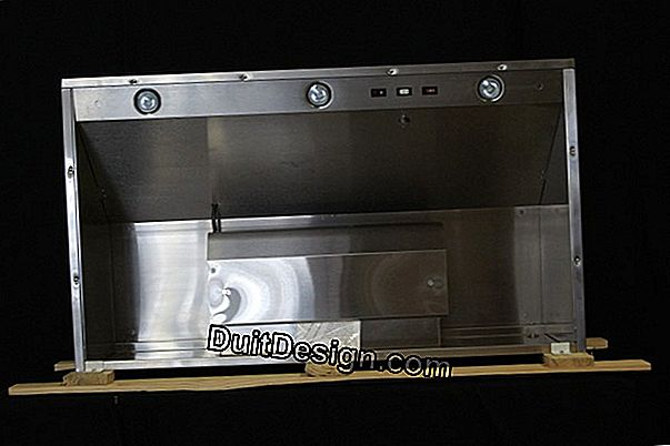 Install an outdoor exhaust hood