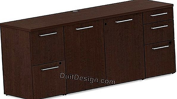 Realize a credenza in aluminum-stainless composite