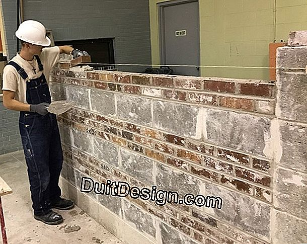 Masonry work: the basics to start