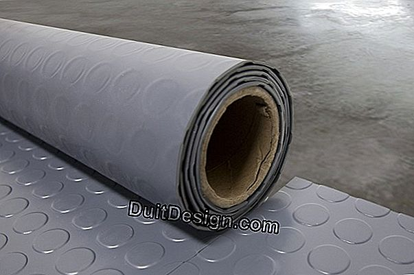 PVC floor roll: how to put it well