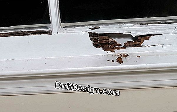 Replace the windows with a damaged window