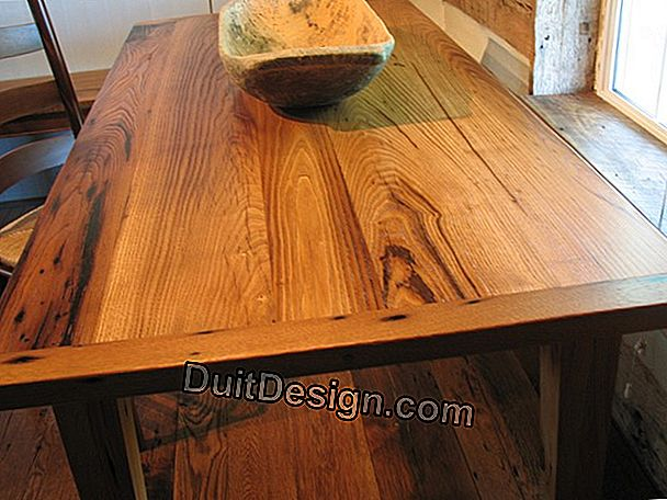 Restore a chestnut farmhouse table