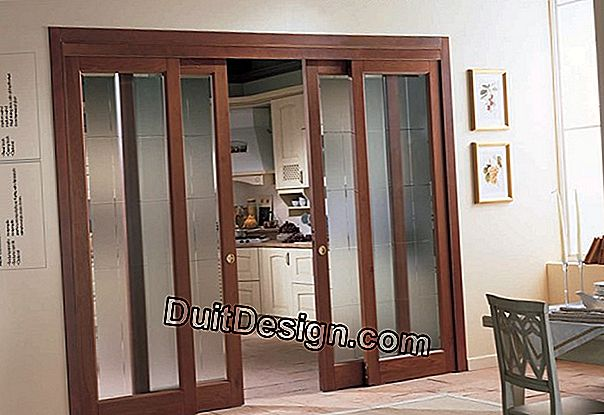 Storage: decorative sliding doors