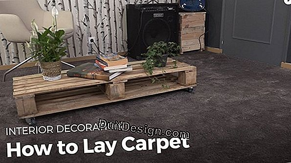 Tutorial: How to lay carpet without glue?