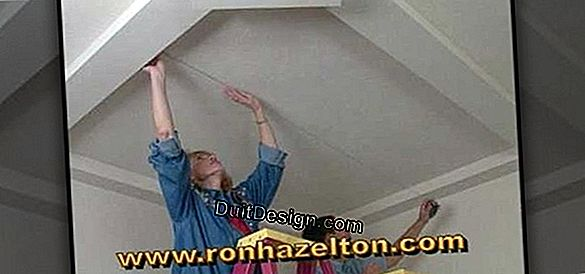 Tutorial: how to put a false ceiling?