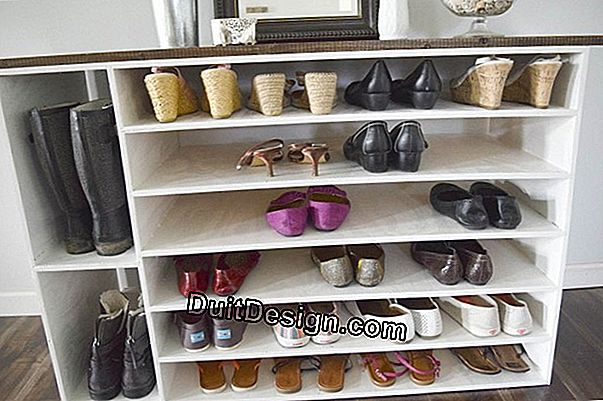 Tutorial: make a storage for shoes